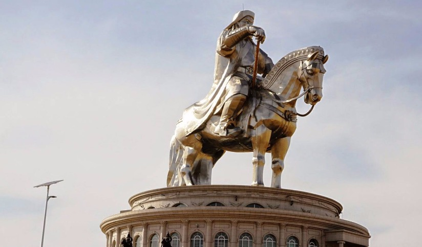 Statue of the Chinggis Khan