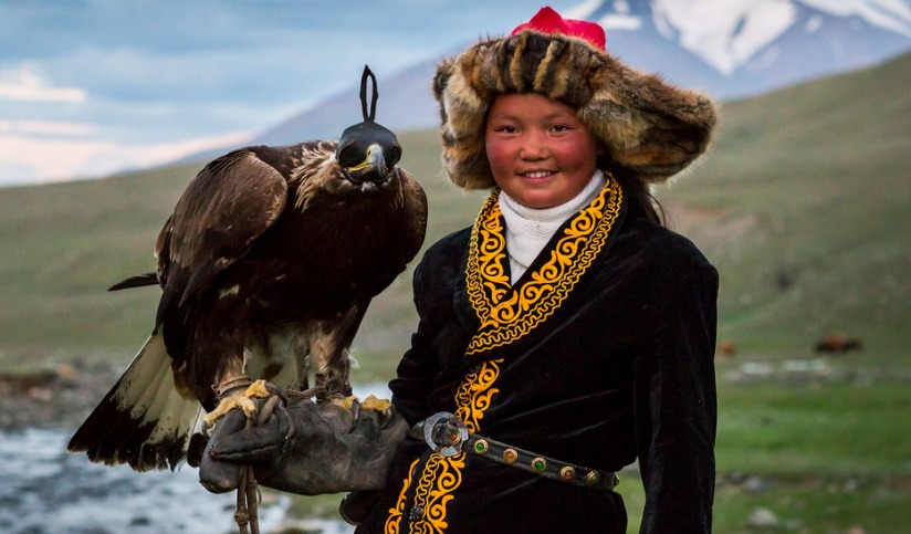Famous young Eagle Huntress